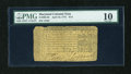 Colonial Notes:Maryland, Maryland April 10, 1774 $1/3 PMG Very Good 10....