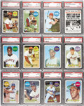 Baseball Cards:Sets, 1969 Topps Baseball High Grade Complete Set (664). This set isheadlined by cards of Hall of Famers such as Mantle, Mays, Aa...