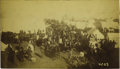 "Western Expansion:Cowboy, Imperial Size Photograph ""Guthrie, Indian Territory"" Land Rush1889. ..."
