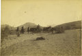 "Military & Patriotic:Indian Wars, Photograph of 11th Infantry on Patrol ""Arizona Territory,"" ca. 1890s. ..."