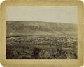 "Western Expansion:Cowboy, Large Format Photograph of ""Fort Apache, Arizona Territory,""1893...."