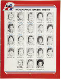 "Hockey Collectibles:Publications, 1978 Indianapolis Racers Official Game Programs with Wayne Gretzky.With stirring skills that many equated to a ""magic touc..."