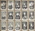 """Hockey Cards:Lots, 1964-67 Bee Hive Group 3 """"Wood Grains"""" Trophy Photos Lot of 15.Stunning assembly of the hobby-favorite Bee Hive Group 3 """"Wo..."""