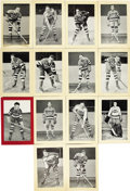 Hockey Cards:Lots, 1934-43 Bee Hives Group 1 New York Americans Photos Lot of 14.Issued from 1934-43, Group 1 Bee Hive promotional photograph...