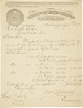 Military & Patriotic:Civil War, Mixed Lot of Signatures of Texas Military and Political Leaders. ...