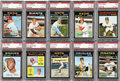 Baseball Cards:Sets, 1971 Topps Baseball High Grade Complete Set (752). A very nicelypreserved set with over 40% in NM to NM/MT condition. A t...