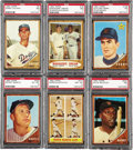Baseball Cards:Sets, 1962 Topps Baseball Complete Set (598). A very tough issue due tothe easy chipping on the brown borders, but this presents...