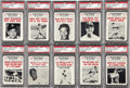 Baseball Cards:Sets, 1961 Nu-Card Scoops High Grade Complete Set (80). The Nu-card collection is a collaboration of baseball's most memorable hig...
