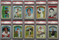 Baseball Cards:Sets, 1972 Topps Baseball High Grade Complete Set (787). This set features the Carlton Fisk rookie card (graded PSA MINT 9) as wel...