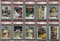 Baseball Cards:Sets, 1973 and 1974 Topps Baseball High Grade Complete Sets (2). This group features rookie cards of Mike Schmidt and Dave Winfiel...