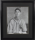 "Autographs:Photos, Ted Williams Signed Oversized Photograph. Aesthetically pleasingoversized (16x20"") black and white photo depicts the Splen..."