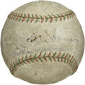 Autographs:Baseballs, Washington Senators Triple Signed Baseball Crowder/Cronin/Johnson.A Pioneer League baseball from the late 1920's or early ...