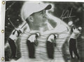 Golf Collectibles:Autographs, Tiger Woods Signed Golf Flag Upper Deck Authenticated. An UpperDeck created golf flag signed by the then spokesman for Upp...