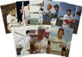 Autographs:Photos, Group of Hall of Famers Signed Photographs Lot of 8. A tremendous assortment of signed photos of members of the Hall of Fam...