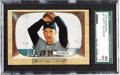 Baseball Cards:Singles (1950-1959), 1955 Bowman Hoyt Wilhelm #1 SGC 96 Mint 9 - 1 of 1. Here we offer astrong Mint example of the always condition sensitive n...