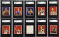 Basketball Cards:Lots, 1948 Bowman Basketball SGC Graded Collection (55). The 1948 Bowmanbasketball set was released in two series. This high gra...