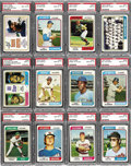 Baseball Cards:Sets, 1974 Topps Baseball High Grade Complete Set (660). A total of eighty-eight cards have been graded by PSA with an aggregate S...
