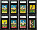 Baseball Cards:Sets, 1933 R333 DeLong Complete Set (24). The DeLong Co. of Boston wasamong the first to sell baseball cards with gum, issuing a ...