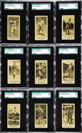 "Baseball Cards:Lots, 1916 M101-4 ""Everybody's Boys Clothing Department"" SGC GradedCollection (19). UPDATE: This lot is a portion of a hobby find..."