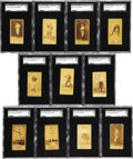 Baseball Cards:Lots, 1887 N172 Old Judge SGC Graded Collection (11). Pre-dating the T206tobacco set by nearly 20 years, the Old Judge set is con...