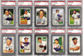 Baseball Cards:Sets, 1952 Bowman Baseball Complete PSA Graded Set (252). The 1952 Bowmanset features the colorful artwork that the early 1950's ...