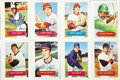 Baseball Cards:Sets, 1973 Topps Pin-Ups Test Issue Complete Set (24). A test issue from1973, the 24 Topps Pin-Ups include the same basic forma...