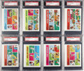 Baseball Cards:Sets, 1973 Topps Comics Test Issue High Grade Complete Set (24). Strictlya test issue, if ever publicly issued at all, the 24 p...
