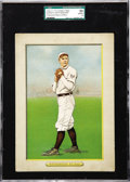 Baseball Cards:Singles (Pre-1930), 1910-11 T3 Turkey Red Cabinets Christy Mathewson #27 with Checklist Back SGC 50 VG/EX 4. In an era when baseball was popula...