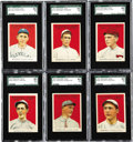 Baseball Cards:Lots, 1915 Cracker Jack Baseball SGC-Graded Collection (14). Offered is a14 card collection of SGC-Graded 1915 Cracker Jacks in h...