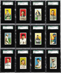 Baseball Cards:Lots, 1909-11 T-206 SGC-Graded Collection with 9 Hall of Famers (111).Every card has been graded by SGC, offered is a collection ...