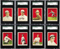 Baseball Cards:Lots, 1915 Cracker Jack Baseball SGC-Graded Collection (38). Presented isa 38 card collection of 1915 Cracker Jacks. This is a ni...