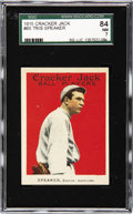 Baseball Cards:Singles (Pre-1930), 1915 Cracker Jack Tris Speaker #65 SGC 84 NM 7. Among the great hitters of the early 20th century, Tris Speaker must be ment...
