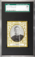 Baseball Cards:Singles (Pre-1930), 1909 Ramly T204 Walter Johnson SGC 30 Good 2. Widely considered tobe Johnson's rookie, as no other cards dedicated to him ...