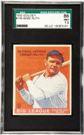 Baseball Cards:Singles (1930-1939), 1933 Goudey Babe Ruth #149 SGC 86 NM+ 7.5. The first line of hiscardback biography summarizes the legendary ballplayer's gr...