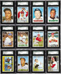 Baseball Cards:Sets, 1967 Topps Baseball High Grade Complete Set (609). A pair of first-ballot Hall of Fame rookies, Tom Seaver and Rod Carew, ar...