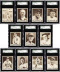 Baseball Cards:Lots, 1940 Play Ball SGC-Graded Collection (11). High grade examples, allfeaturing Hall of Fame members and a couple of high-numb...