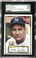 Baseball Cards:Singles (1950-1959), 1952 Topps Baseball Joe Page #48 (Sain Bio) SGC 88 NM/MT 8. One ofthe true rarities from the landmark 1952 Topps baseball s...
