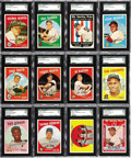 Baseball Cards:Sets, 1959 Topps Baseball High Grade Complete Set (572). A rookie fromthe rocket-armed Bob Gibson, a multitude of star cards inc...