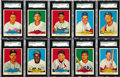 Baseball Cards:Sets, 1954 Red Heart Complete High Grade Set (33). Man's best friend andthe National Pastime join forces in this set issued wit...