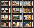 """Baseball Cards:Sets, 1955 Bowman Baseball High Grade Complete Set (320). The popular""""television set"""" presents a significant stumbling block for ..."""