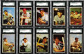 Baseball Cards:Sets, 1953 Bowman Color Baseball Complete Set (160). Offered is a solidmid to high grade 1953 Bowman Color Set. The first set of...