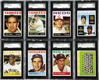 1964 Topps Baseball Complete Set (587) Although this set lacks the rookie fire power, it does contain all of the stars f...
