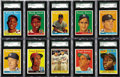 "Baseball Cards:Sets, 1958 Topps Baseball Complete Set (494). The 1958 Topps baseball series consists of 494 cards and included ""All-Star"" cards f..."
