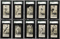 Baseball Cards:Sets, 1933-36 Zeenut With Coupon SGC Graded Collection (55). Every cardhas been graded by SGC. Offered is a collection of 55 193...