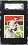 Baseball Cards:Singles (1930-1939), 1935 Diamond Stars Ted Lyons #43 SGC 96 Mint 9. An art deco style,a hall of fame player, and in mint condition. What else ...