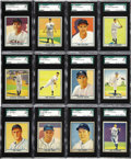 Baseball Cards:Sets, 1941 Play Ball Baseball Near Set (58/72). Every card has been graded by SGC. Presented is a high grade near set of 1941 Play...