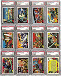Miscellaneous Collectibles:General, 1962 Topps Mars Attacks High Grade Complete Set (55). Offered is ahigh grade 1962 Topps Mars Attacks Set. Simultaneously c...