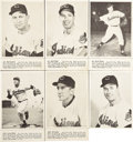 Baseball Cards:Sets, 1952 Num Num Cleveland Indians Complete Set (20). Distributed withpackages of Num Num potato chips, pretzels and other snac...