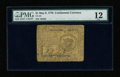 Colonial Notes:Continental Congress Issues, Continental Currency May 9, 1776 $1 PMG Fine 12....