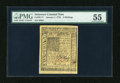 Colonial Notes:Delaware, Delaware January 1, 1776 5s PMG About Uncirculated 55....